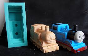 Thomas The Tank Engine Wall Decor by Silicone Mould Thomas The Train Big Cake Decorating Fondant