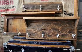 Barnwood Rustic Coat Hook Cabin Decor Bec4 Beyondthepicketfence