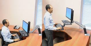 Ergotron Sit Stand Desk Manual by Ergotron Review Workfit A Sit Stand Workstation Aha Now