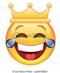 Laughing Face With Crown