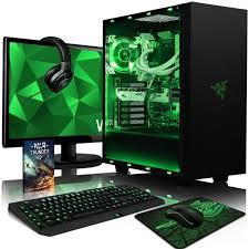 pack ordinateur de bureau vibox voxel rs560 361 pack pc gamer intel 4 radeon rx 460