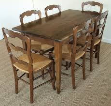 Cleaning Vintage French Oak Kitchen Table — SMITH Design
