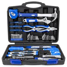 Best Choice Products 108-Piece Home Repair Tool Kit W/ Toolbox ...