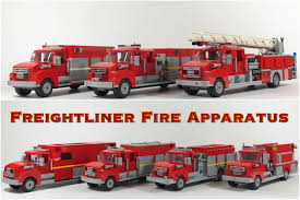 Lego MOC: Freightliner Fire Trucks & Engines : Lego