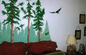 Wall Mural Decals Tree by Wall Decal Beautiful Pine Tree Wall Decal Pine Tree Stickers