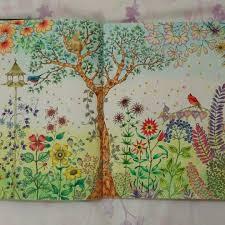Watercolor Pencils Coloring Book