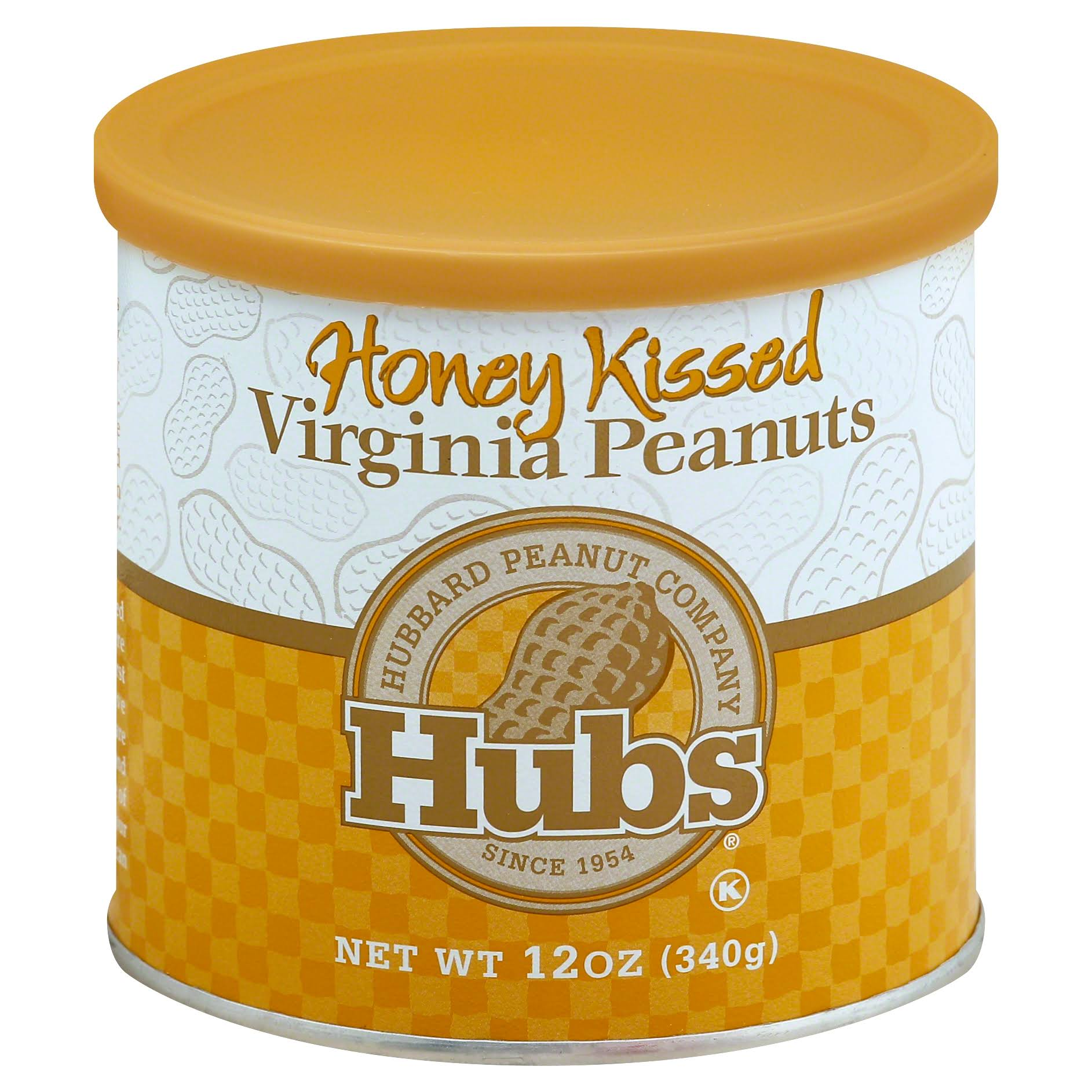Hubs Peanuts, Virginia, Honey Kissed - 12 oz