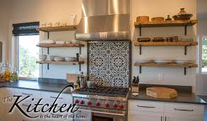 Reclaimed Wood Shelves Kitchen Is The Heart Of Your Home