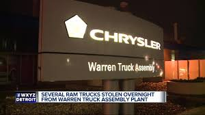 Nine Brand New Trucks Stolen From Fiat Chrysler Storage Lot In ... First 2013 Ram 1500 Off The Production Line Youtube 2014 Ecodiesels Roll Out Of Warren Truck Assembly Plant John Hamilton Photos Chrysler Marks Production Of New 2009 Byd Announces New Electric Truck Assembly Factory In Canada Electrek 2015 Rebel Rolls Off Line Forum Fca Usa Nextgen Heavyduty Moves From Mexico To Get Your Ram Wheels Ready For Diesel Reportedly Back Despite Emissions