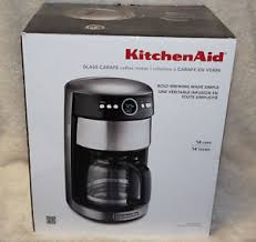 Image Is Loading KitchenAid KCM1402CU 14 Cup Glass Carafe Coffee Maker