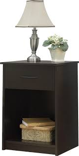 Walmart Sofa Table Canada by Amazon Com Ameriwood Home Core Nightstand Espresso Kitchen U0026 Dining