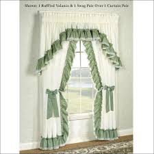 Purple Ruffle Curtain Panel by Trendy Tie Up Bedroom Curtains U2013 Muarju