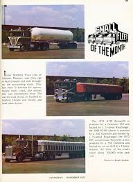 Photo: November 1973 Small Fleet Of The Month | 11 Overdrive ... Trucking Carrier Warnings Real Women In Mtl Yard Maislin Bros Pinterest Turner Brothers Llc Home Facebook Company Best Image Truck Kusaboshicom Competitors Revenue And Employees Owler Red Classic Mack Trucks After The Rain 104 Magazine 2018 Pky Beauty Championship Report By Mid Movin Out Second Annual Semicasual Show Peroulis Archives