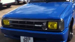 1992 MAZDA B2000 CUSTOM PICKUP TRUCK REVIEW - YouTube