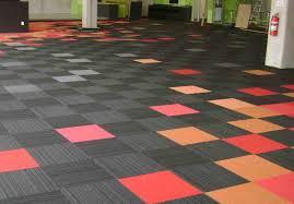 carpet tiles with padding for basement carpet