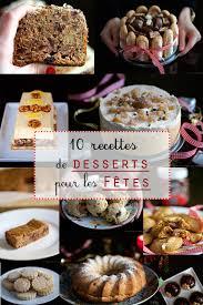 recette de cuisine en 10 recettes de desserts pour les fêtes cuisine en scène le
