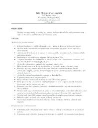 Sample Veterinary Resume Best Of For Technician Administrativelawjudge