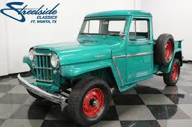 1960 Willys Pickup | Streetside Classics - The Nation's Trusted ... 136184 1940 Willys Pickup Rk Motors Classic And Performance Cars 1962 Jeep Overland Front Left View Products I Love Hemmings Find Of The Day 1950 473 4wd Picku Daily 1951 Jeep Kaiser Willys Willy Pickup Truck Frame Rust Free Nice Gateway 936det 1963 For Sale 2120330 Motor News Pivnic 1957 Specs Photos Modification Info At Cardomain Truck Hot Rod Image 178 Stinky Ass Acres Rat Offroaderscom 1941 1880014 Willys Truck Related Imagesstart 150 Weili Automotive Network Rare Aussie1966 4x4 Vintage Vehicles 194171