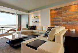 Apartment Awesome Modern Interior Design White Sofa