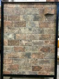 ceramic tile that looks like brick floor decoration ideas