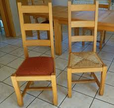 6 stühle buche massiv hochlehner esszimmer polster oder binsen