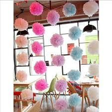 20cm Wedding Decoration Tissue Paper Pom Poms Events Party