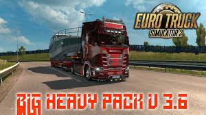 100 Big Truck Games Heavy Pack V36 ETS2 Mods Euro Truck Simulator 2 Mods