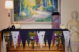 Halloween Fireplace Mantel Scarf by Halloween Mantel Banner Sew Mama Sew