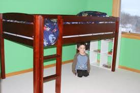 canwood furniture whistler junior twin low loft bed walmart com