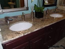 Drop In Bathroom Sink With Granite Countertop by Wilsonart Jamocha Granite Crema Bordeaux With Bullnose Edge