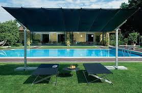 Offset Rectangular Patio Umbrellas by Fim Flexy Aluminum 10 U0027 X 14 U0027 Rectangular Offset Umbrella Flexy10x14