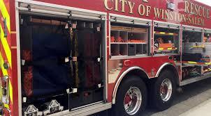 100 Rescue Truck WinstonSalem Fire Department Unveils Heavy Rescue Truck Local
