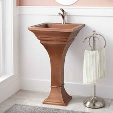 18 Inch Pedestal Sink by Pedestal Sinks Classic And Modern Pedestal Sinks Signature Hardware