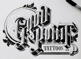 Ben Johnston Advertising Logo Typography