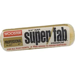 "Wooster Brush R241-14 Super/Fab Roller Cover - 3/4"" Nap, 14"""