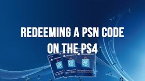 PS4 - Redeeming A PSN Code, Voucher Code Or Promo Code