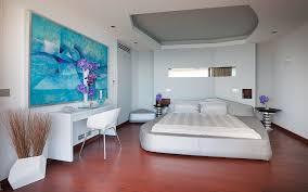futuristisches schlafzimmer mit bild kaufen 12314098
