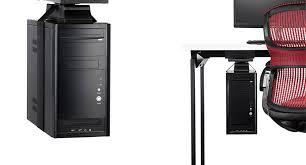 Cpu Holder Under Desk Mount Small by Knoll Adjustable Vertical Sling Cpu Holder Shop Knoll Cpu Holders