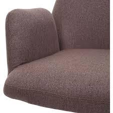esszimmerstuhl mcw h71 küchenstuhl lehnstuhl stuhl drehbar auto position stoff textil stahl braun