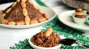 cuisine du maroc sellou sfouf السفوف سلو