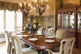 Chandeliers Play A Major Role In The Mood Of Dining Room