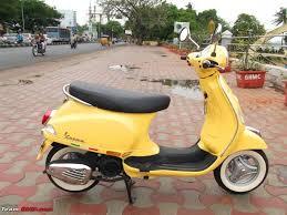 My Vespa LX 125 Yellow Wasp