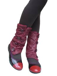 red leather leg warmers accessories for shoes guêtres pour