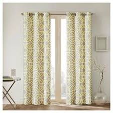 mainstays thermal print woven curtain panels set of 2 multiple