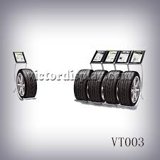 VT003 Single Tire Display Racks For Showroom Victor The Premier Provider Of