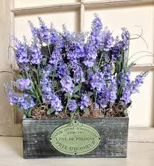 Mothers Day Lavender Table Decorations