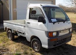 100 Hijet Mini Truck 1998 Daihatsu HiJet Minitruck Item DD3689 Wednesday Apr