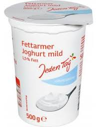 jeden tag fettarmer joghurt mild 1 5