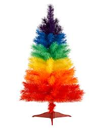 Pre Lit Christmas Tree Rotating Stand by Rainbow Christmas Tree Treetopia