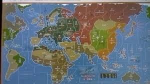 Mandela Axis Allies Maps Residue Effect